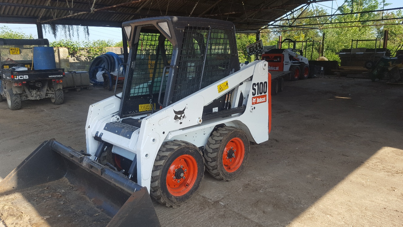 Used Bobcat S100 at AMS Bobcat Ltd - 0800 998 1354 <small>(Free from most landlines)</small>