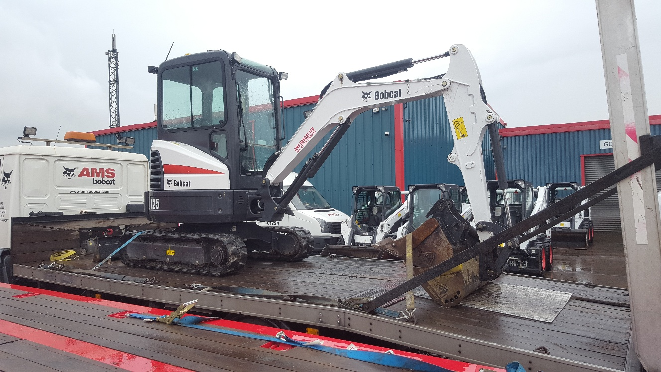 Used Bobcat E25 at AMS Bobcat Ltd - 0800 998 1354 <small>(Free from most landlines)</small>