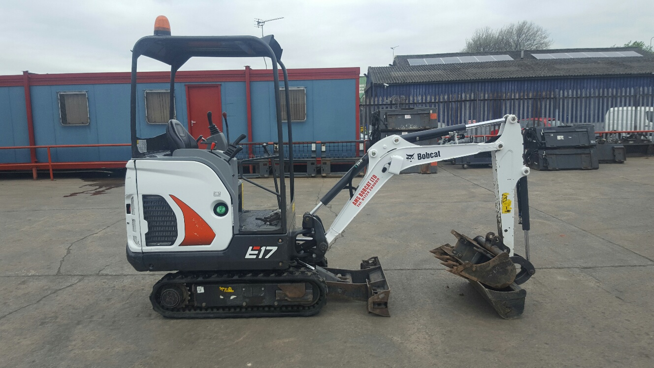 Used Bobcat E17 at AMS Bobcat Ltd - 0800 998 1354 <small>(Free from most landlines)</small>