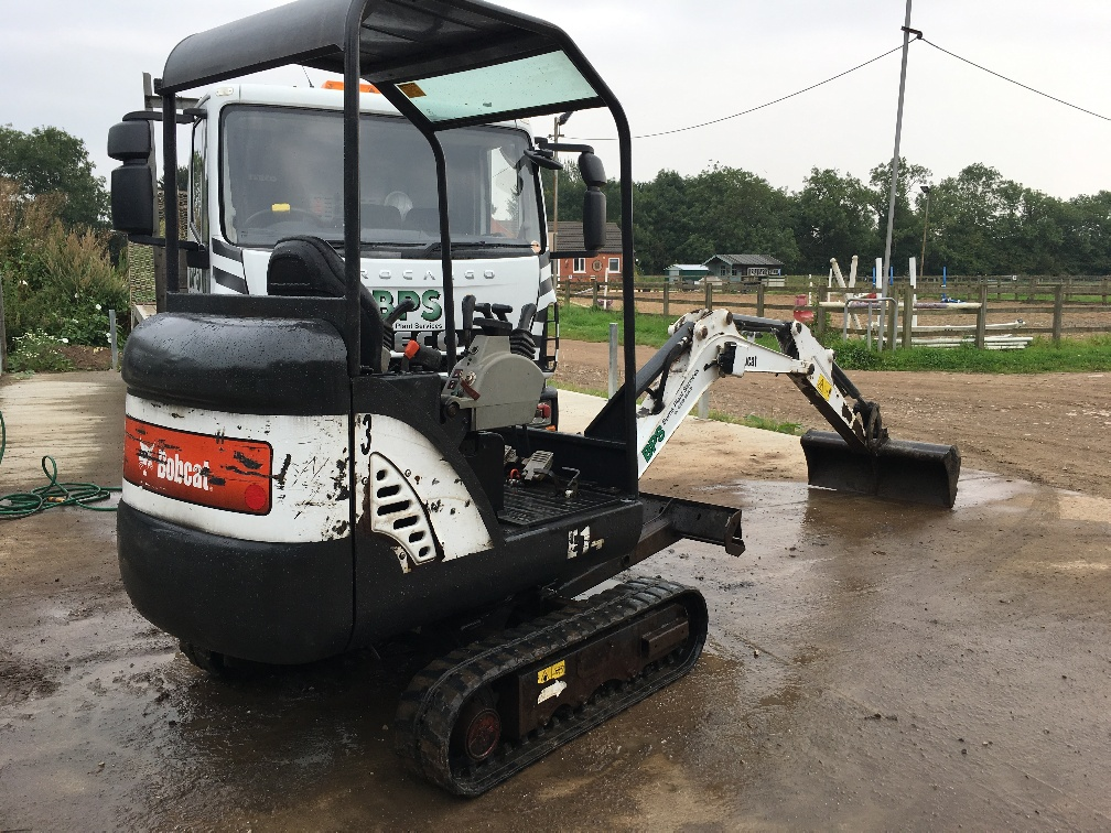 Used Bobcat E14 at AMS Bobcat Ltd - 0800 998 1354 <small>(Free from most landlines)</small>