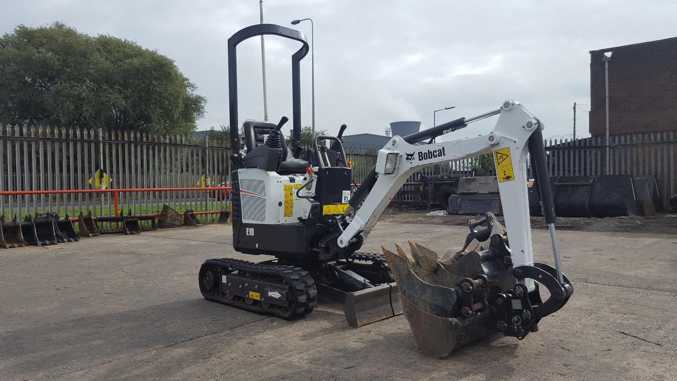 Used Bobcat E10 at AMS Bobcat Ltd - 0800 998 1354 <small>(Free from most landlines)</small>