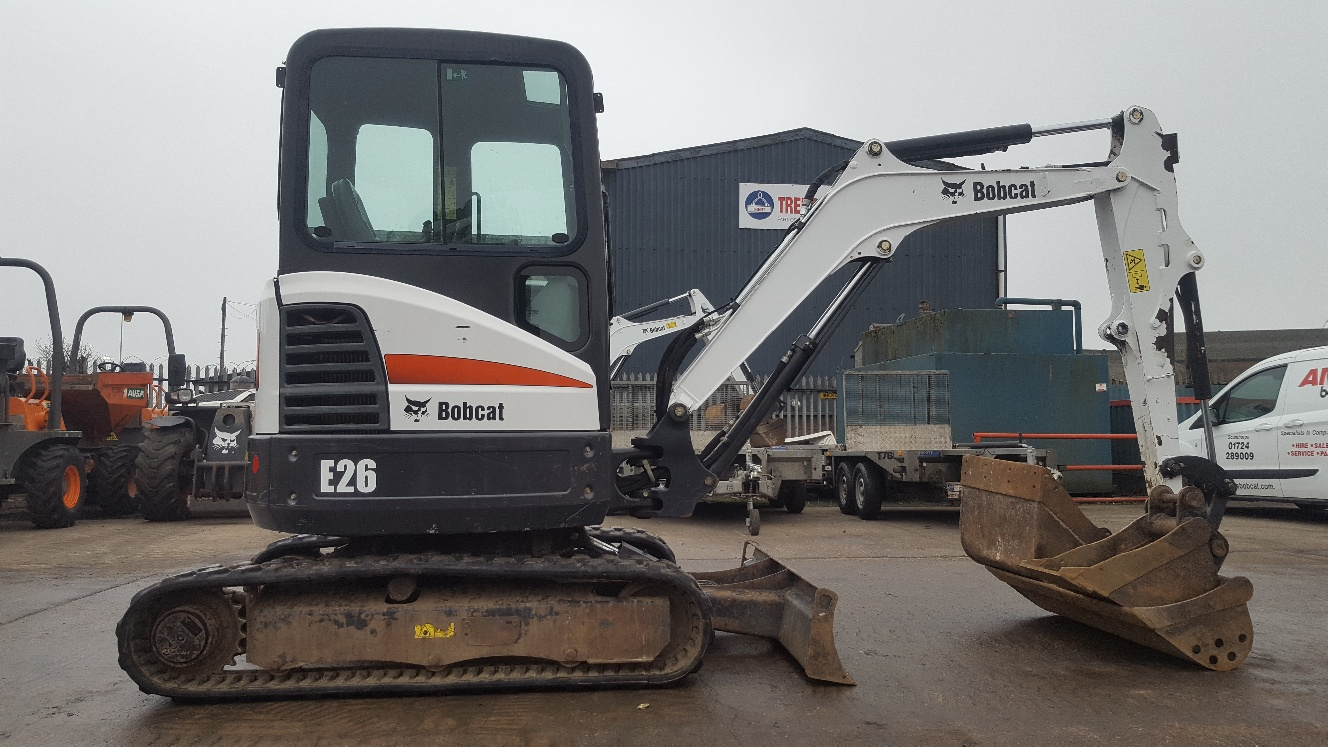 Used Bobcat E26 at AMS Bobcat Ltd - 0800 998 1354 <small>(Free from most landlines)</small>