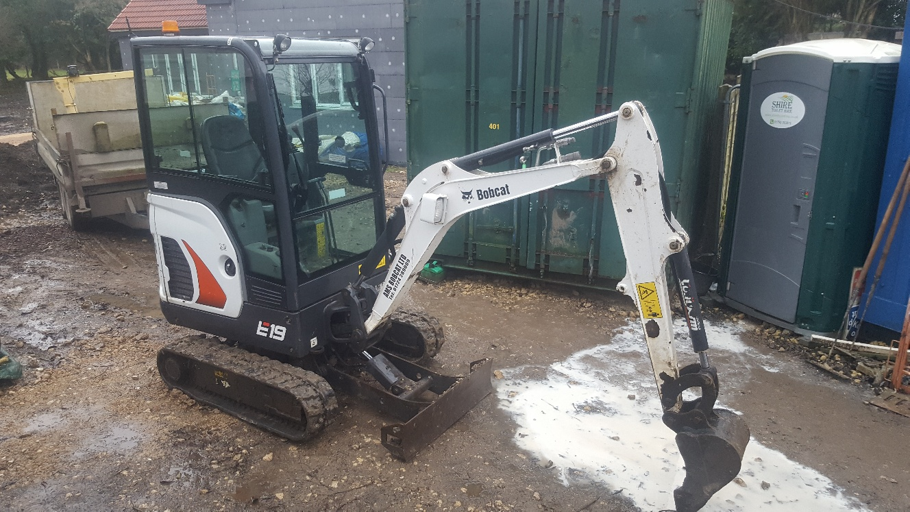 Used Bobcat E19 at AMS Bobcat Ltd - 0800 998 1354 <small>(Free from most landlines)</small>