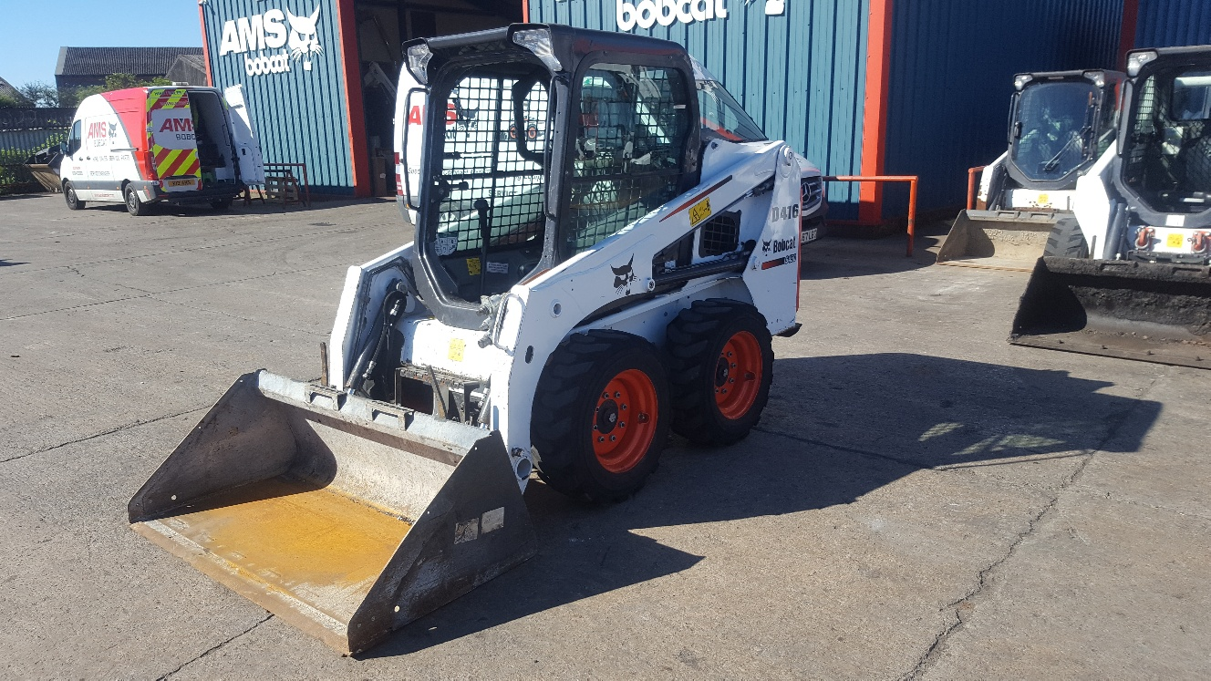 Used Bobcat  S450 at AMS Bobcat Ltd - 0800 998 1354 <small>(Free from most landlines)</small>