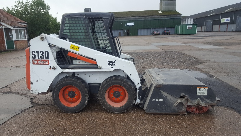 Used Bobcat S130 at AMS Bobcat Ltd - 0800 998 1354 <small>(Free from most landlines)</small>