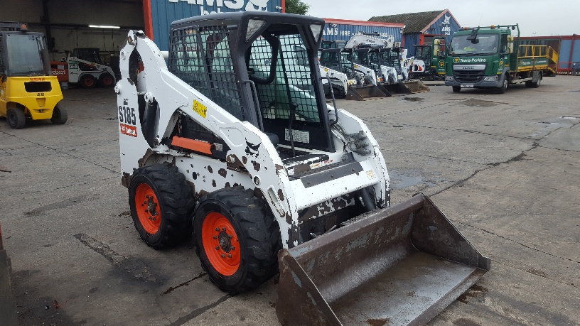 Used Bobcat S185 at AMS Bobcat Ltd - 0800 998 1354 <small>(Free from most landlines)</small>
