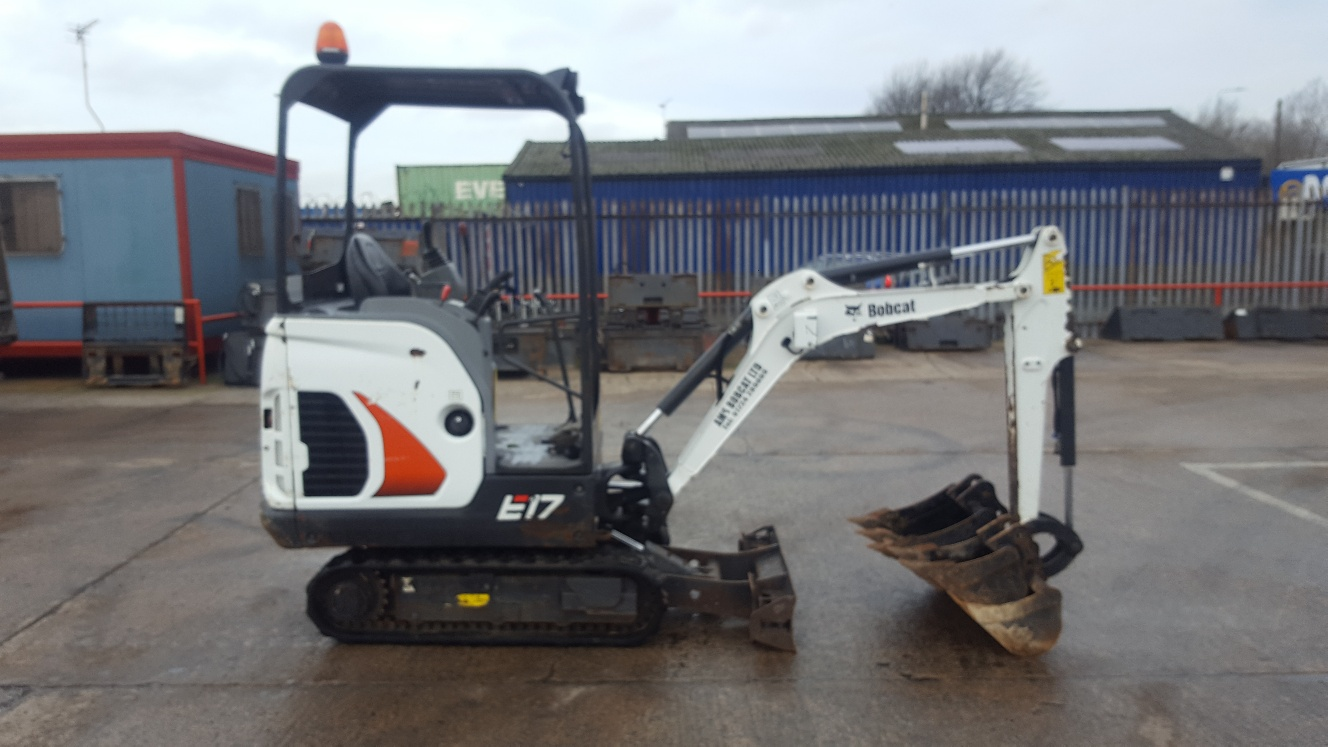 Used Bobcat E17 at AMS Bobcat Ltd - 0800 998 1354 <small>(Free from most landlines)</small>