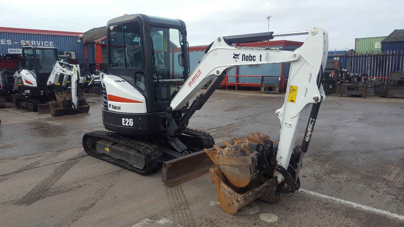 Used Bobcat E26 at AMS Bobcat Ltd - 0800 998 1354 <small>(Free from most landlines)</small>