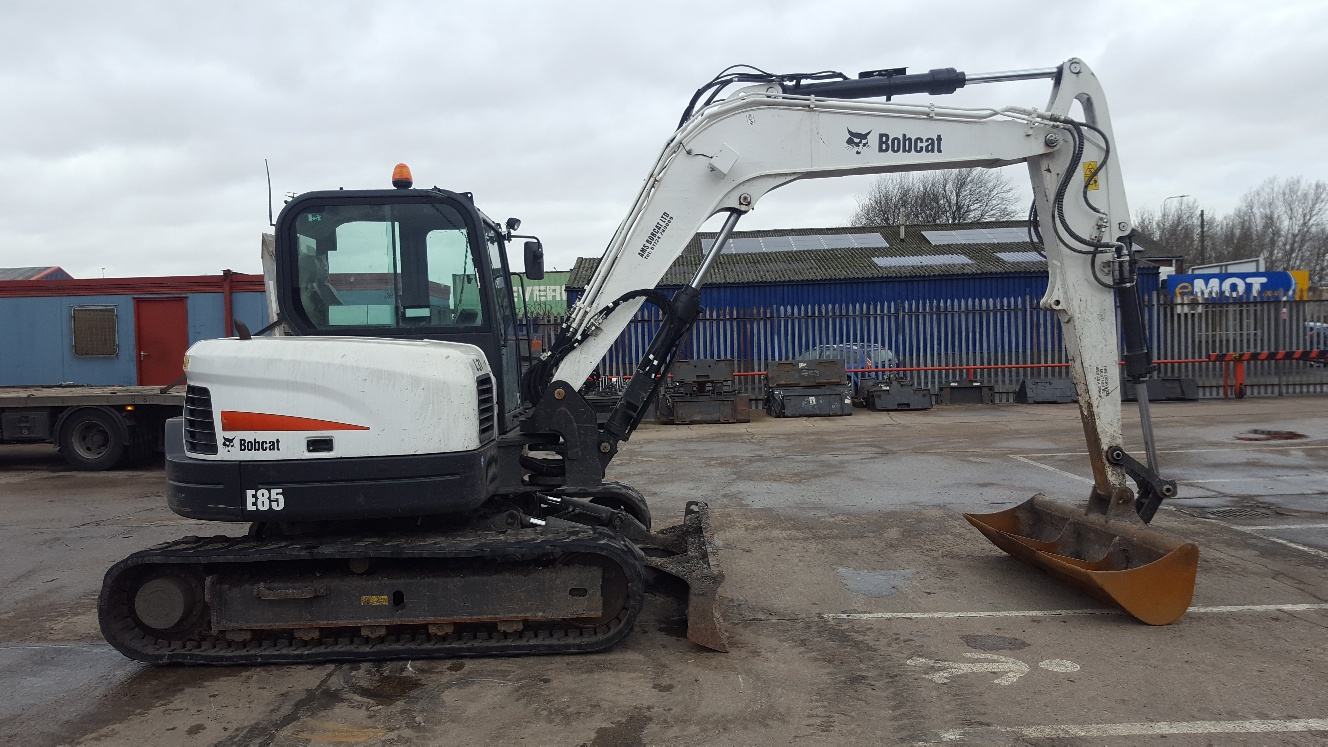 Used Bobcat E85 at AMS Bobcat Ltd - 0800 998 1354 <small>(Free from most landlines)</small>