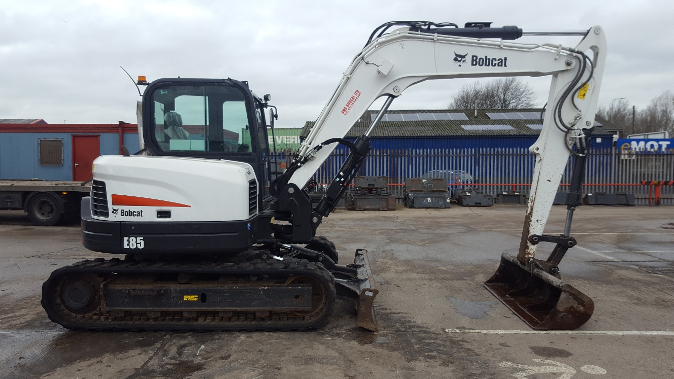 Used Bobcat  E85 at AMS Bobcat Ltd - 0800 998 1354 <small>(Free from most landlines)</small>
