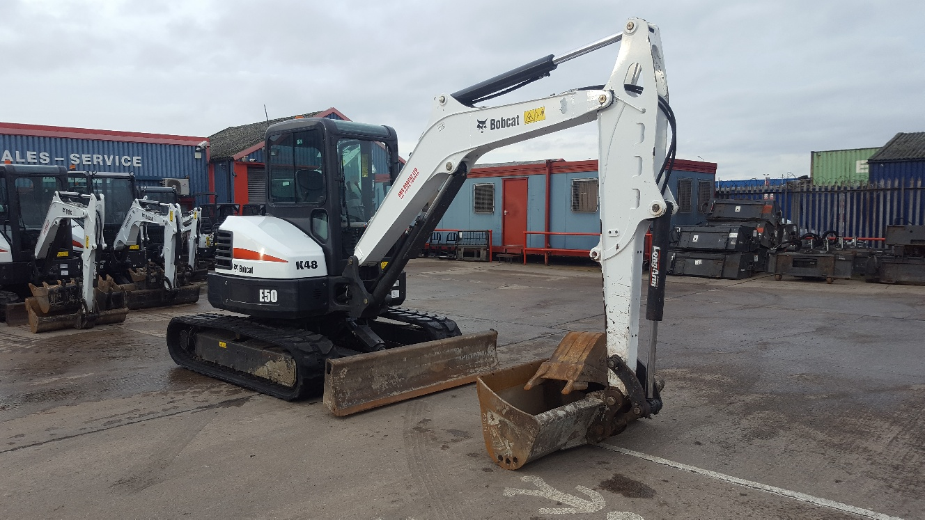 Used Bobcat E50 at AMS Bobcat Ltd - 0800 998 1354 <small>(Free from most landlines)</small>