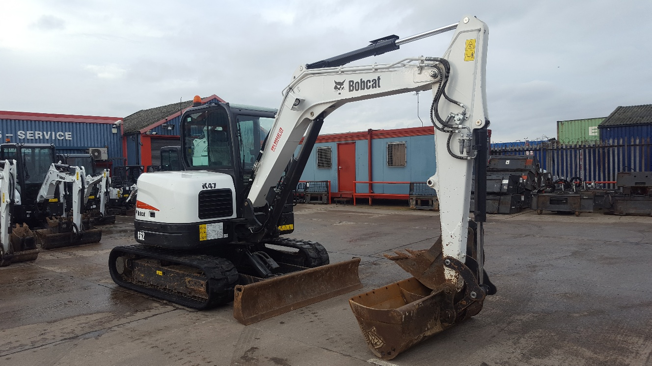 Used Bobcat E62 at AMS Bobcat Ltd - 0800 998 1354 <small>(Free from most landlines)</small>