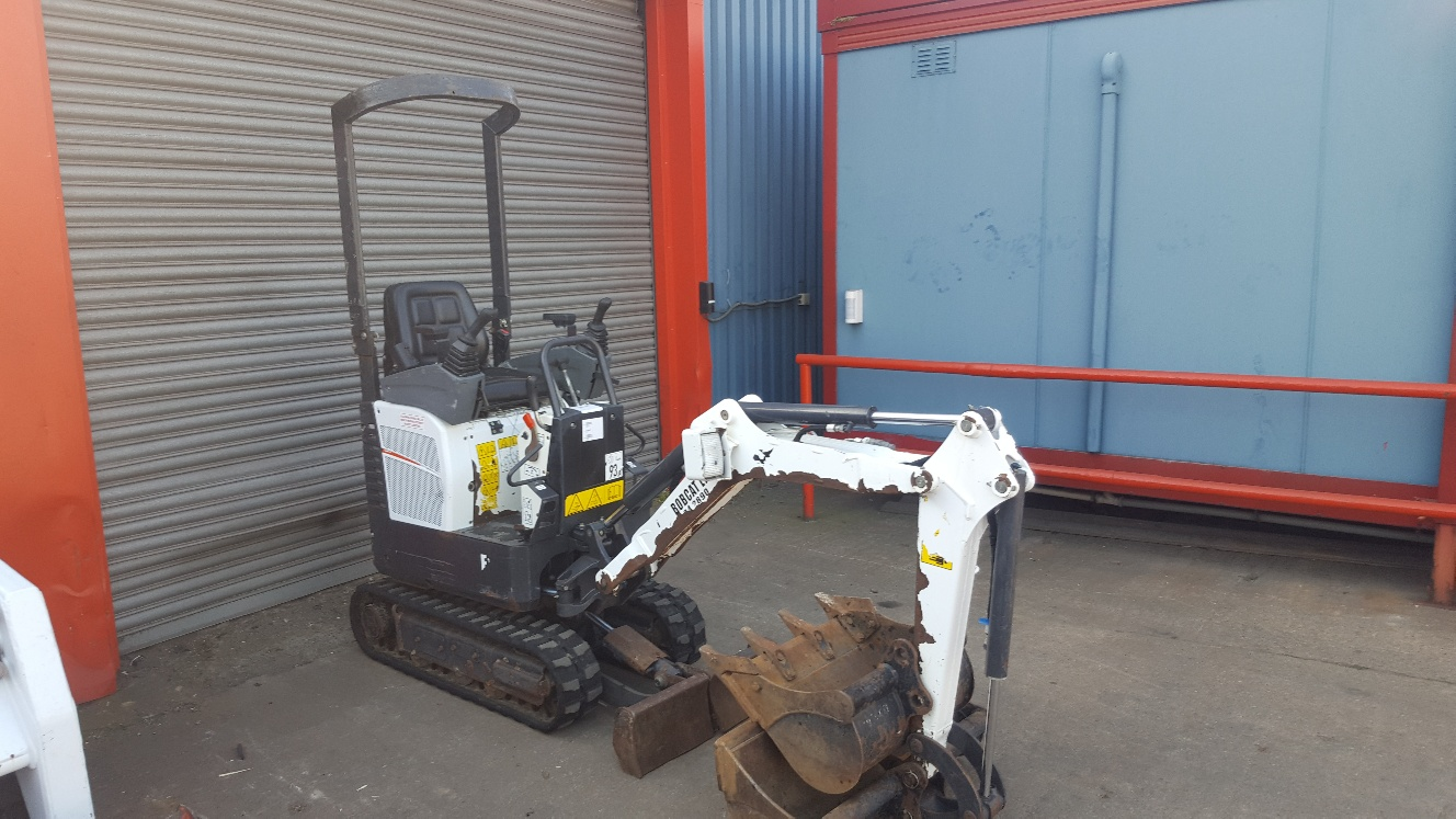 Used Bobcat E10Z at AMS Bobcat Ltd - 0800 998 1354 <small>(Free from most landlines)</small>