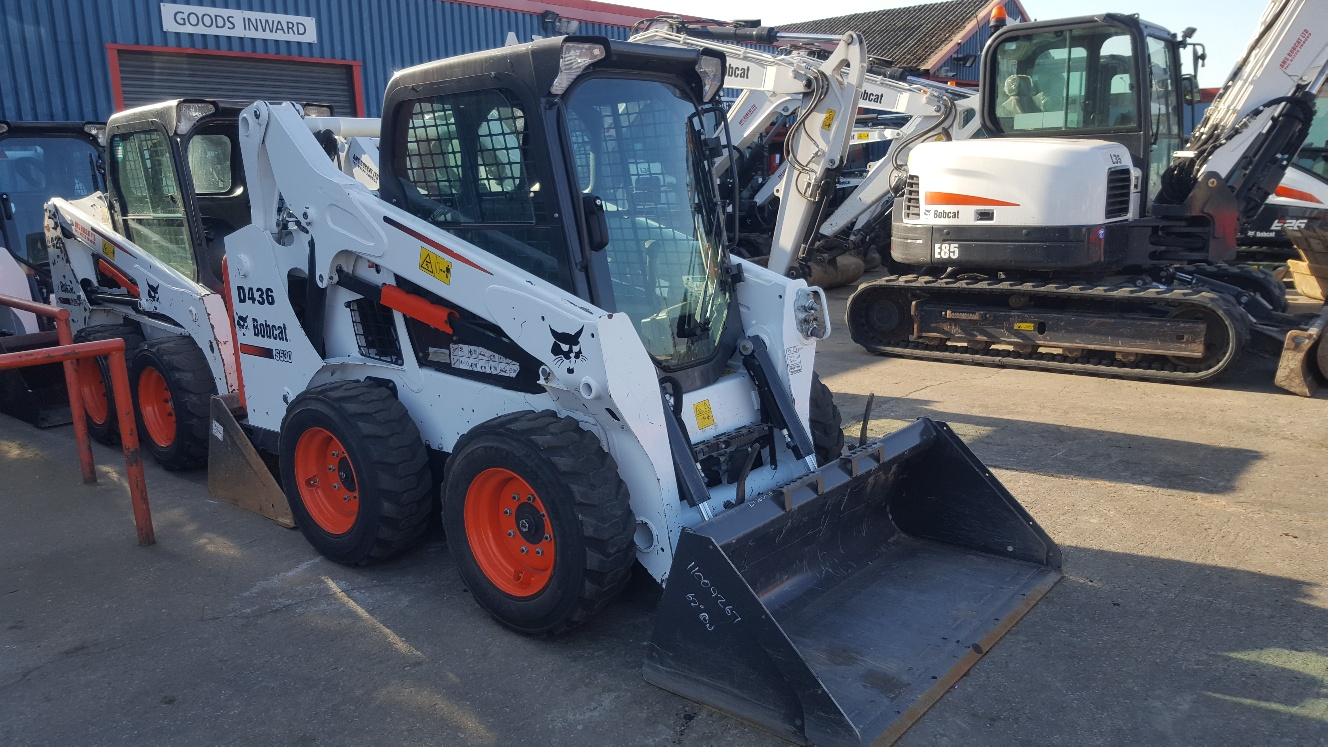 Used Bobcat S530H at AMS Bobcat Ltd - 0800 998 1354 <small>(Free from most landlines)</small>
