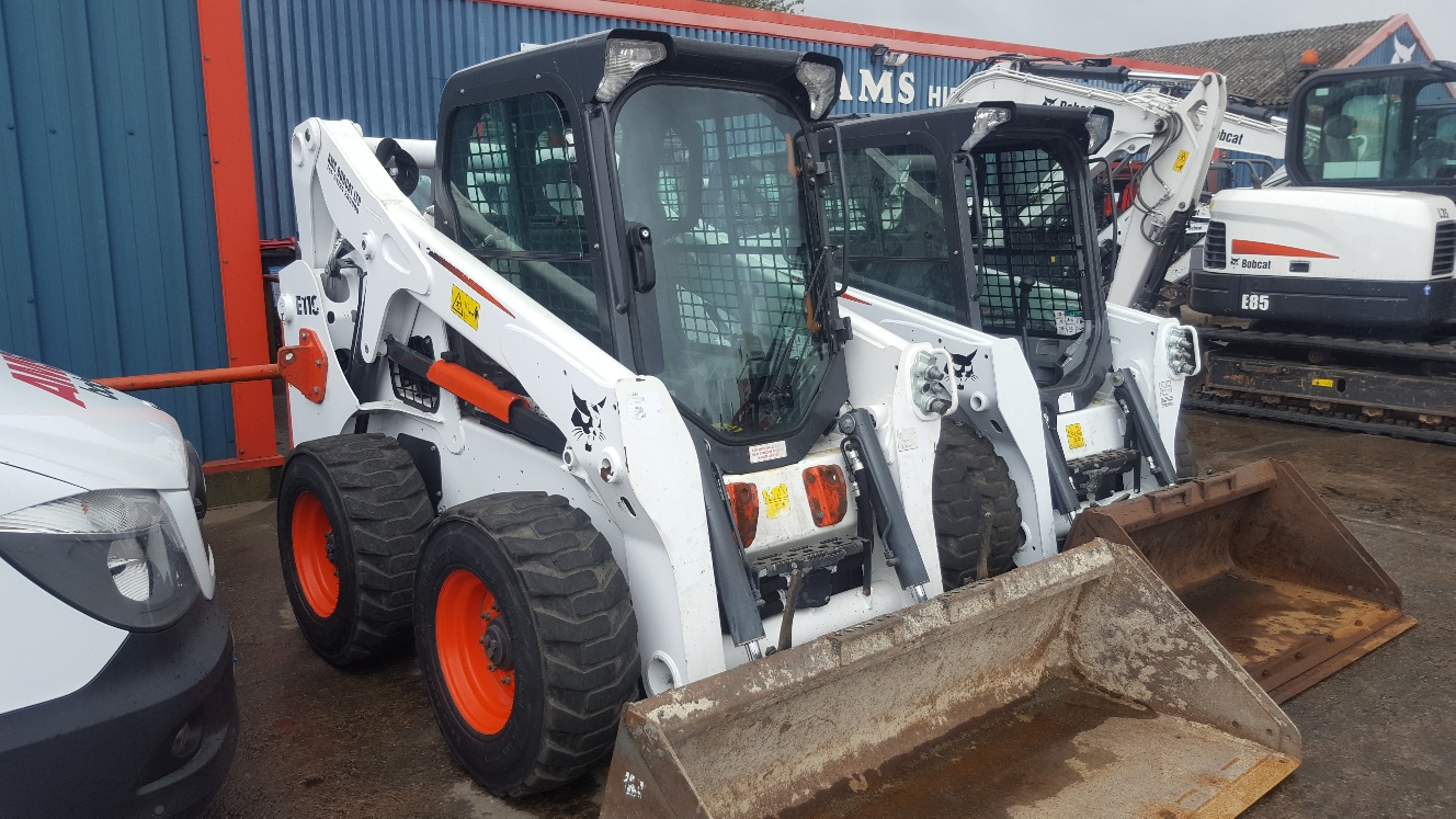 Used Bobcat S650 at AMS Bobcat Ltd - 0800 998 1354 <small>(Free from most landlines)</small>